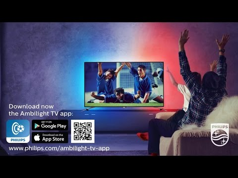 Wave your flag with the Philips Ambilight TV app