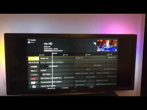 Philips neuer IP-EPG (IPG, Internet EPG) auf 2011er Philips TVs