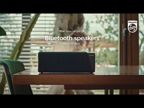 Discover Philips new range of Bluetooth speakers | S7505 S5505 S3505