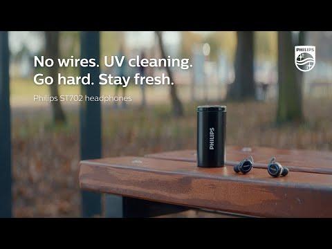 Philips sports headphones ST702