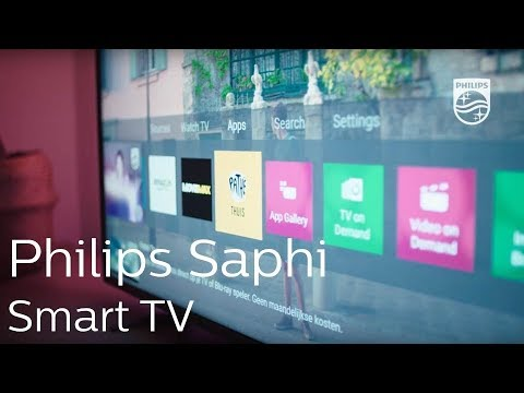 Philips Saphi Smart TV | The smart way to enjoy your TV