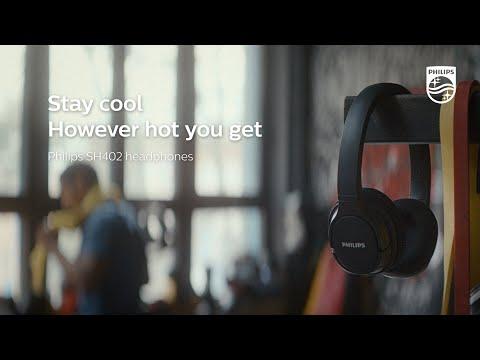 Philips sports headphones SH402