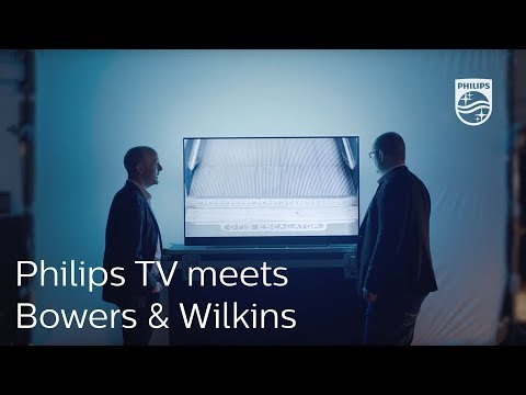 Treat your eyes. Amaze your ears | Philips TV meets Bowers & Wilkins