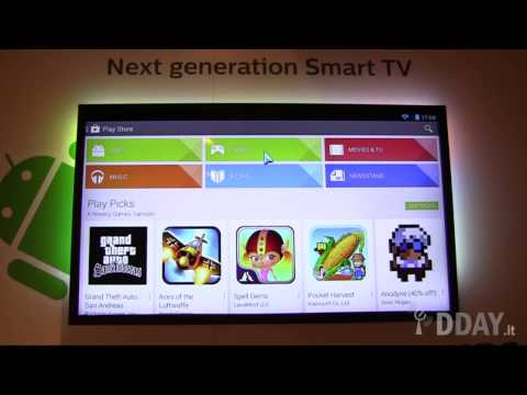 TV Philips con Android integrato