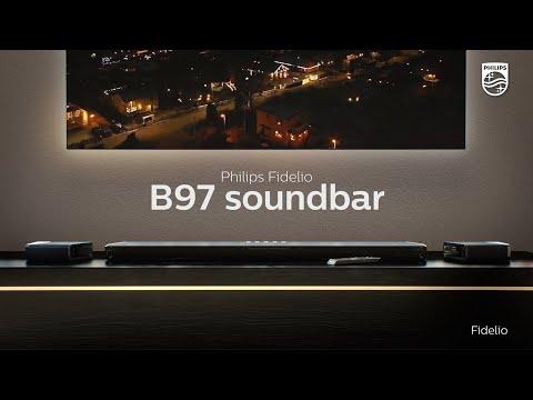 Discover Philips Fidelio B97 soundbar