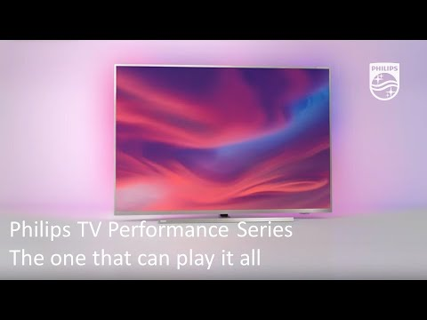 Philips TV Performance Series | The one that can play it all