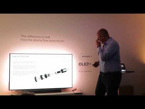 Philips 2019: Workshop von Andy Kerr (Bowers & Wilkins) über die Audiosystem vom OLED934 und OLED984