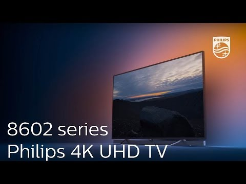 Philips 8602 series : 4K UHD TV with Ambilight