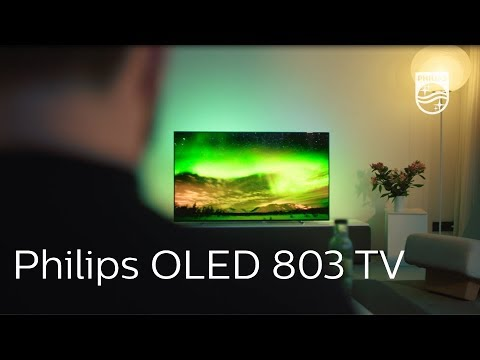 Philips OLED 803 Series: 4K UHD Android TV with Ambilight