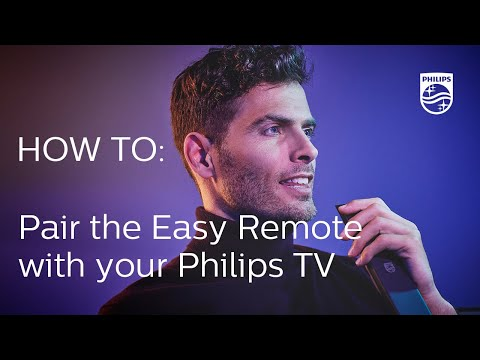 How to pair the Easy Remote with your Philips TV [2018]