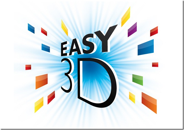 Philips Easy3D Logo für Passives 3D