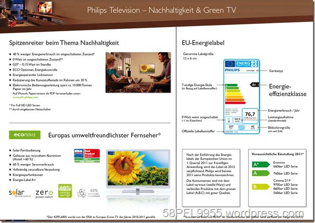 2011: Philips Green TV