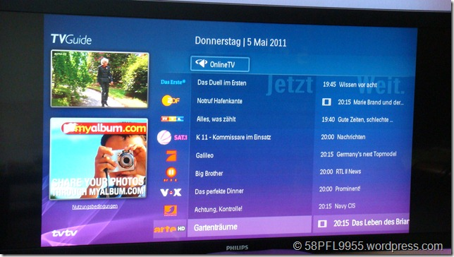 Philips IP-EPG (5.5.2011)
