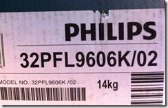 Philips 2011: 32PFL9606K/02
