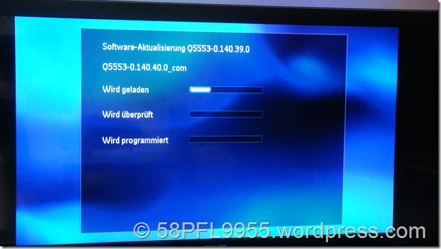 Philips 2010: Firmware 140.40 TV550R1