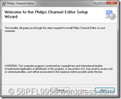 Philips Channel Editor