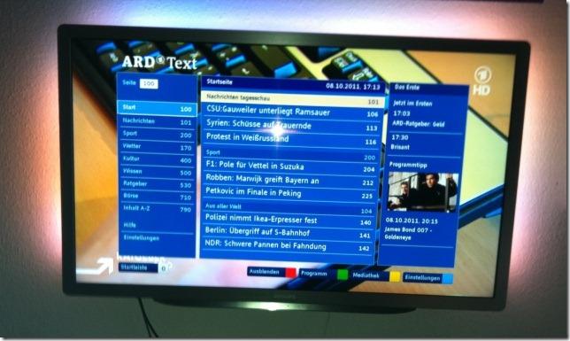 Philips 2011: HBBTV ARD