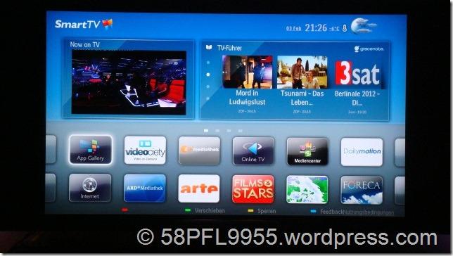 Philips SmartTV Portal