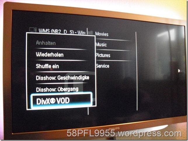 DivX VOD Registrierungs Code