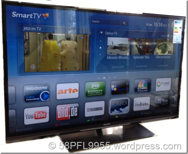 Philips 2012: SmartTV Portal (6000 series and up)