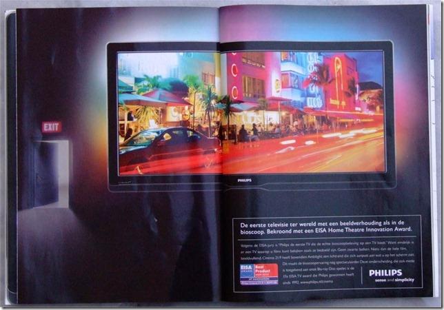 Philips 21:9 Advertisement, Dutch Playboy December 2009