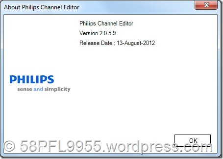 Philips Channel Editor 2.x