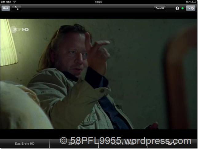 Philips Wifi-SmartScreen with MyRemote HD App on iOS