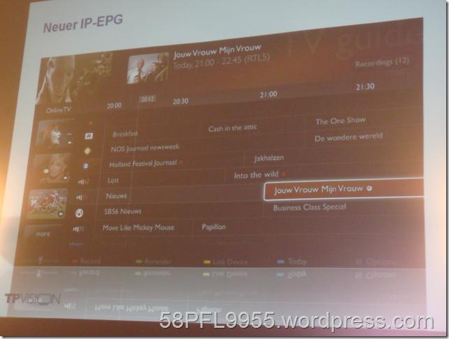 Philips: IP-EPG 2013
