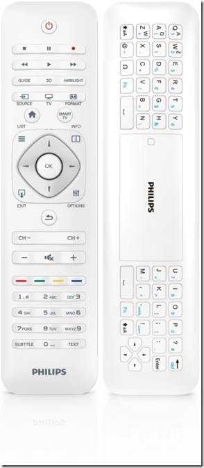 Philips 2013: Remote Control 7108