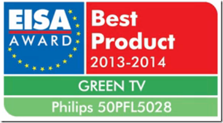 Philips 2013: EISA AWARD Best Product 2013-2014