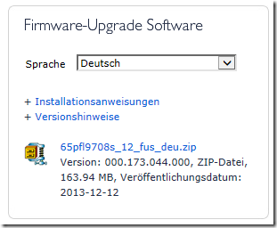Philips Firmware Update