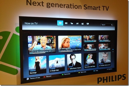Philips 2014: powered by Android