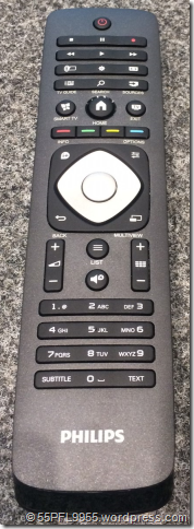 Philips 2014: 47PFK7109/12 Remote Control
