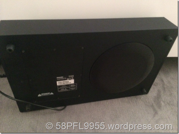 Philips 2014: Wireless Bluetooth Subwoofer PHL-SWB50 + PTA209