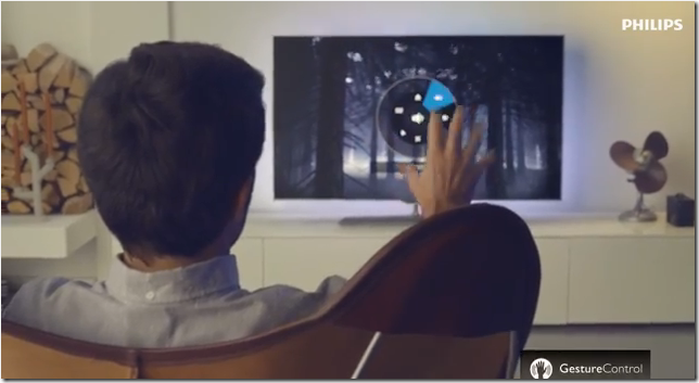Philips 2014: Gesture Control