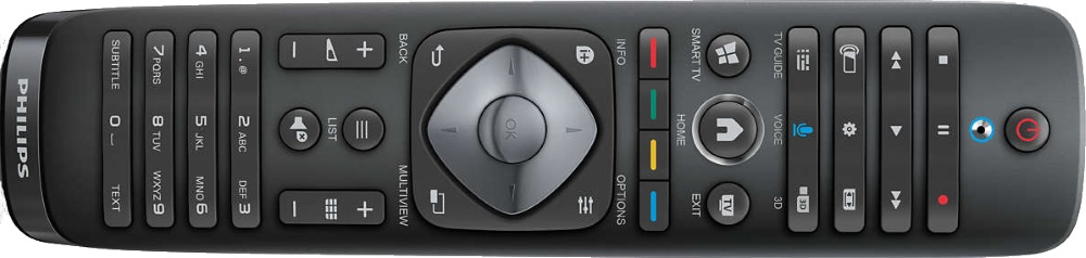 Philips 2014: Remote Control of 65PUS9809