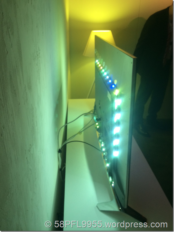 Philips 2014: Ambilight 4 on 9109