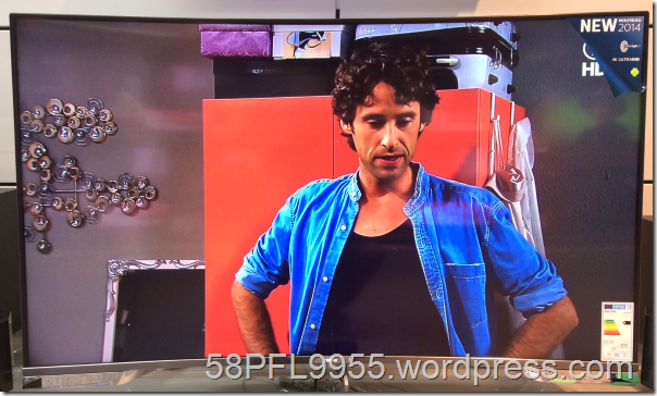 Philips 2014: 55PUS8909C/12 CURVED Ultra HD TV