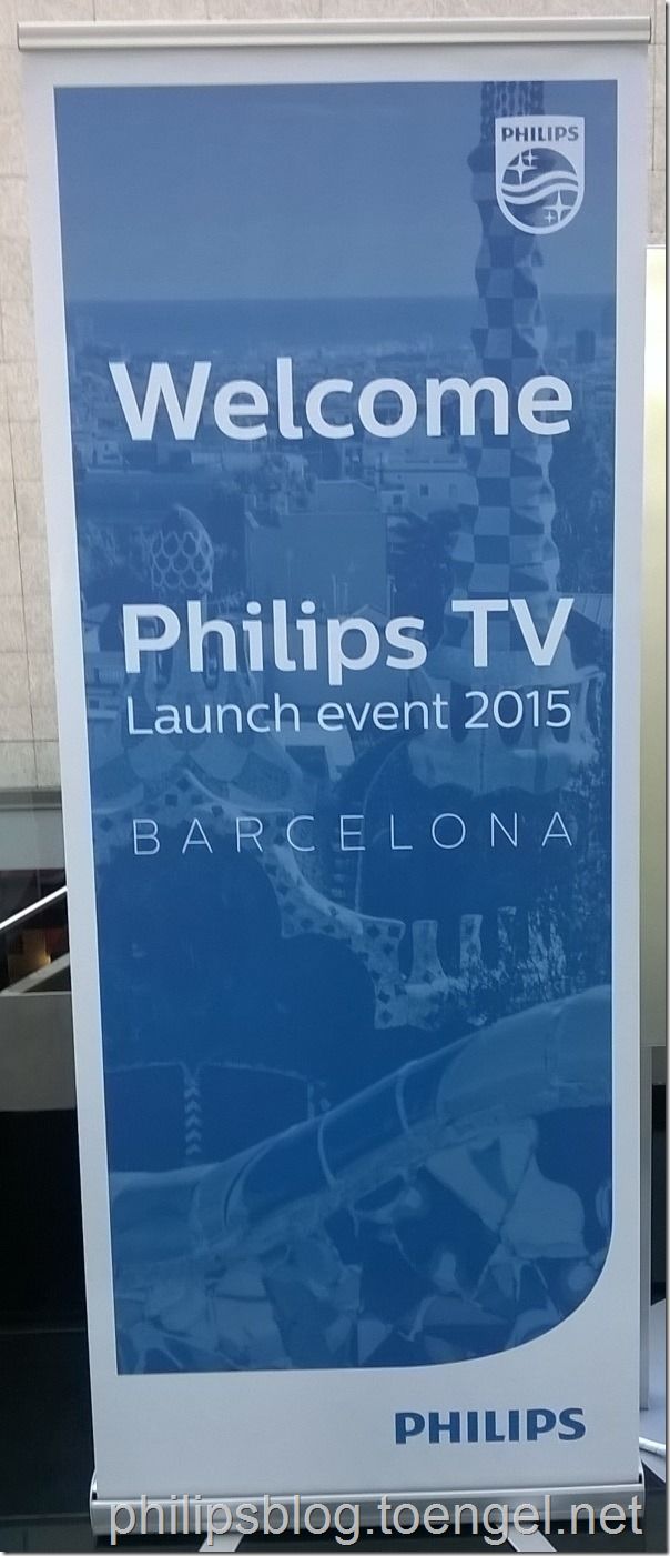 Philips TV Launch Event 2015 Barcelona