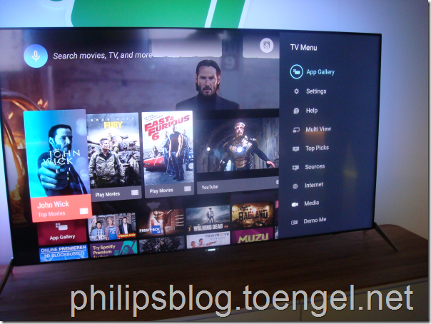 Philips 2015: Android TV