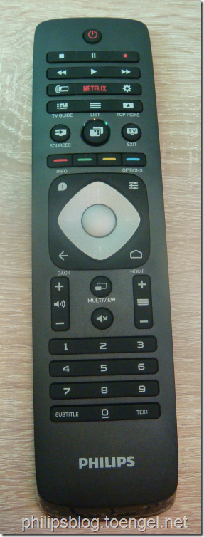 Philips 2015: Remote with Keyboard