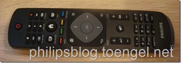Philips 2015: one-sided Remote Control
