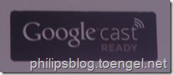 Philips 2015: Google Cast
