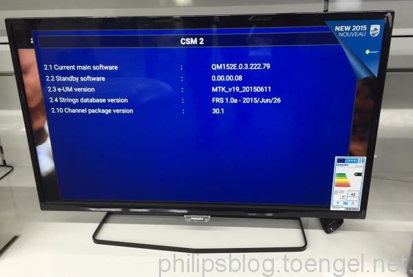 Philips 2015: 5500 Series (32PFK5500/12)