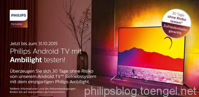 Philips TV Promotion 14.9. - 31.10.2015
