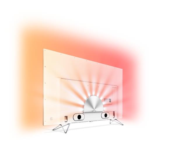 Philips 2015/16: 3-seitiges Ambilight Projection beim Philips AmbiLux TV