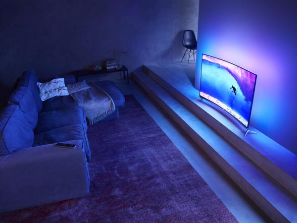 Philips 2015: 8700 Curved Ultra HD Series with Android TV