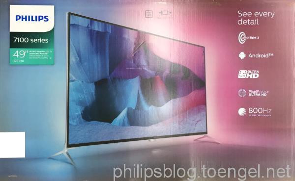 Philips 2015: 7170 Series Box