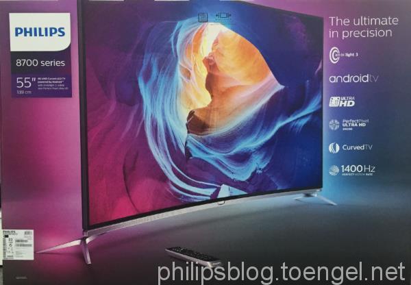 Philips 2015: 55PUS8700/12 Box Shot
