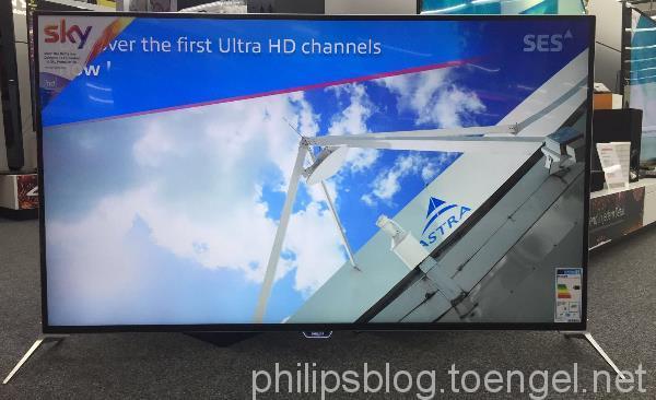 Philips: DVB-S2 mit HEVC auf xxPUK7100